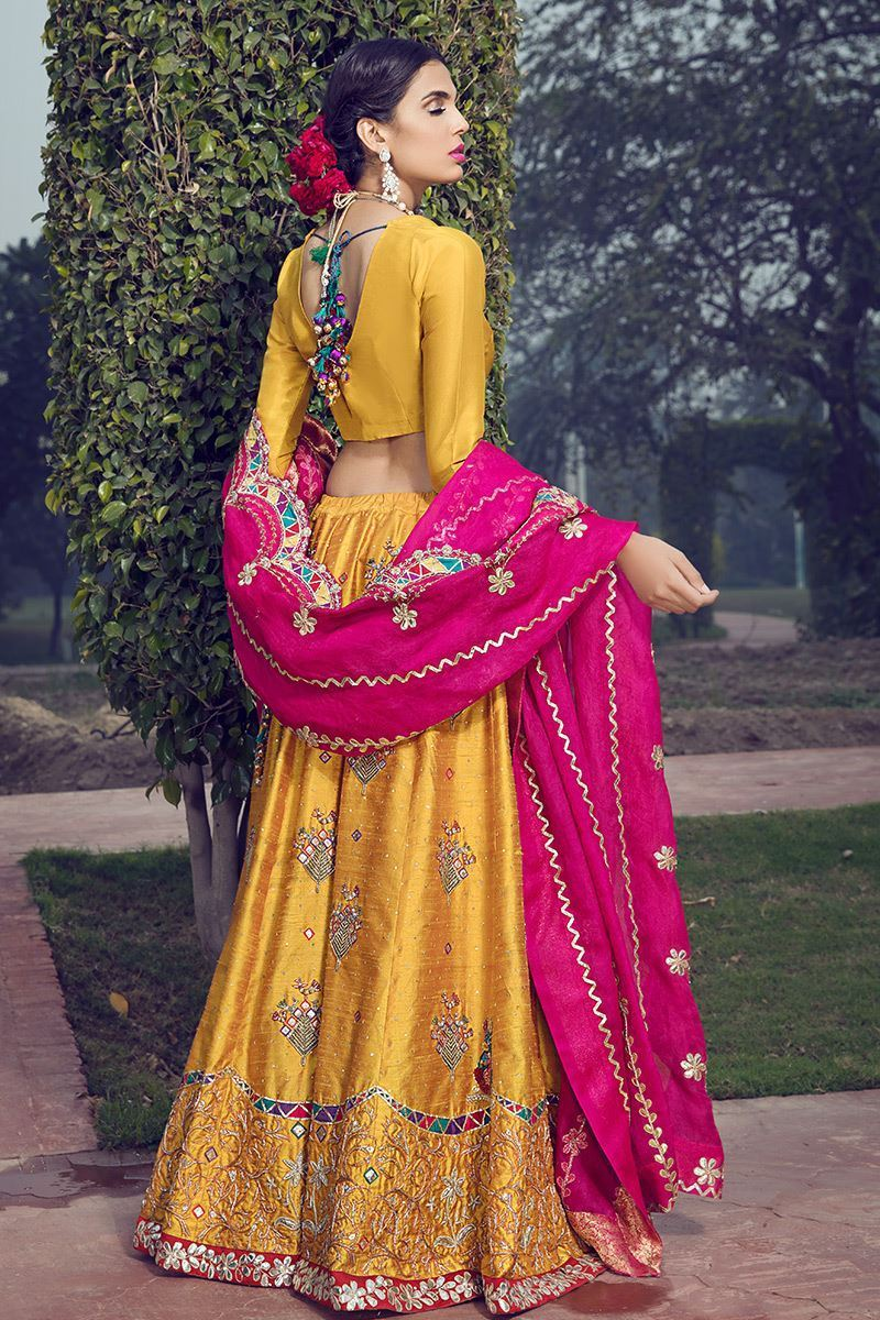 Picture of Marigold lehnga